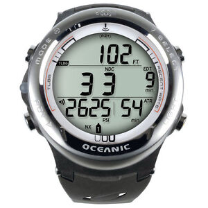 Oceanic-Atom-3-1-Scuba-Dive-Computer-Watch-ONLY-White-NEW
