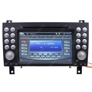 For-2004-2011-Benz-SLK-class-R171-Car-GPS-Navigation-Radio-TV-IPOD-DVD-Player
