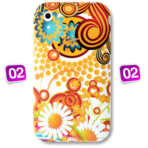Multi Colour Printed Design Gel Silicone Case Cover for Apple iPhone 3G & 3GS