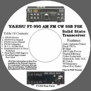 Yaesu-FT-990-AM-FM-CW-SSB-FSK-HF-Xcvr-Info-CD