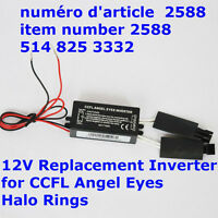12V Replacement Inverter for CCFL Angel Eyes Halo Rings