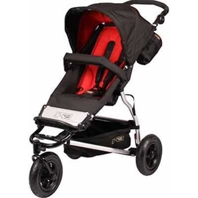 Mountain Buggy 2013 Evolution Swift Stroller - Chilli -brand Free Shipping