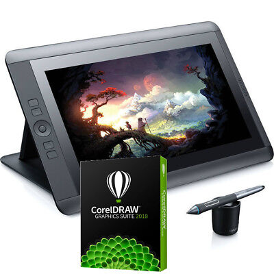 Wacom Cintiq 13HD Bundle Creative Pen Tablet W/ Free CorelDraw 2018 EDU *New* segunda mano  Embacar hacia Argentina