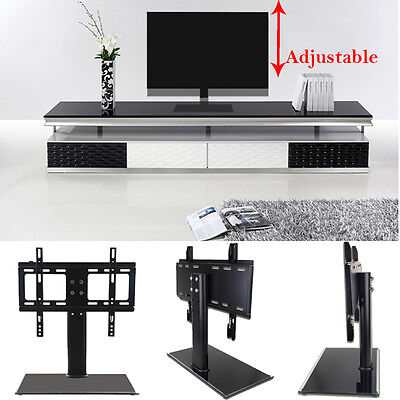 "Universal LED LCD Flat Screen TV Table Bracket With Stand/Base fits 37""-55"" TV for sale  USA"
