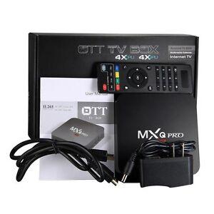 MXQ PRO RK3229 MXQ TV Box Amlogic S805 Quad-Core Cortex-A5 Flemington Melbourne City Preview