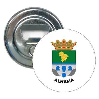 ABRIDOR REDONDO ESCUDO ALHAMA - ALMERÍA