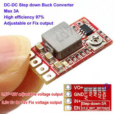 Mini Dc-dc Buck Step-down Converter Adjustable Power Module 3.3v 3v 5v 9v 12v 3a