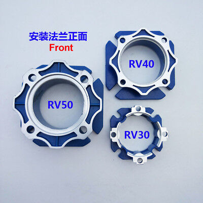 Nmrv030040050 Turbo Worm Gearbox Speed Reducer Output Flange Aluminum-alloy