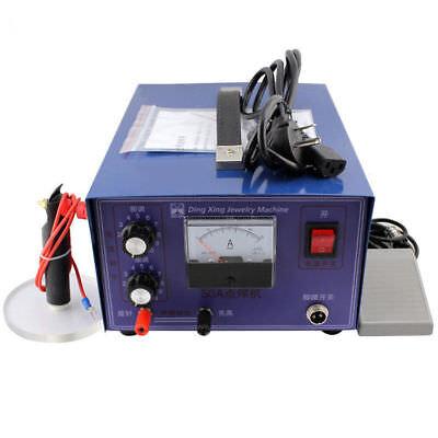 110v 400w Dx-50a Jewelry Laser Pulse Welding Machine Handheld Mini Spot Welder