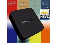 MXQ 4K Wifi TV BOX Rockchip RK3229 Quad Core IPTV Kodi 16.1 Android 5.1 TVbox