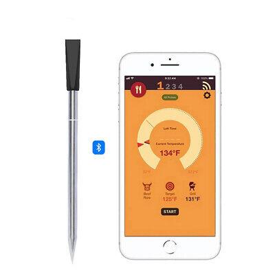 YNNI KAMADO Smart 2 Probe Universal Round Thermometer Food + Ambient Temp TQAT02