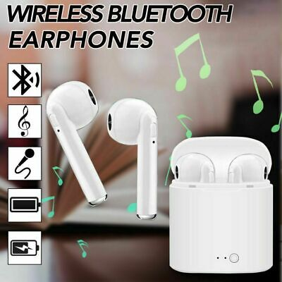 Bluetooth TWS Headphone Wireless In-Ear Headset Stereo Music For Samsung iPhone