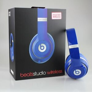 Beats Studio  Wireless White & Blue for 1 Hour Only Today