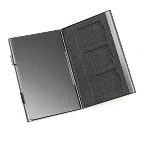 6-in-1-black-Aluminium-Metal-Memory-Card-Protective-Hard-Carry-Case-holder-SD