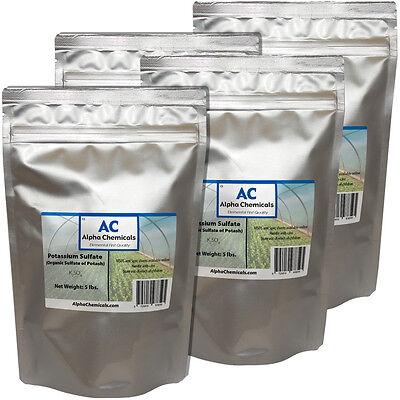 20 Pounds   Sulfate Of Potash   Potassium Sulfate