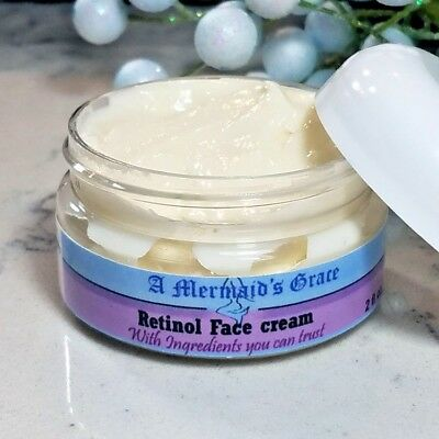 Best Retinol Face Cream with Hyaluronic Acid; For Wrinkles, Fines lines, Acne, (Best Night Cream For Fine Lines)
