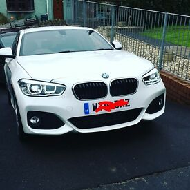Bmw 118d m sport 1995cc like new with only 9000 miles