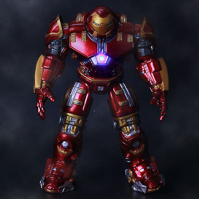 Marvel Action Figure Avengers Age of Ultron LED Iron Man HULKBUSTER 7