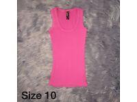 Size 10 | Pink Vest