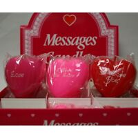 Love Message Candles - New