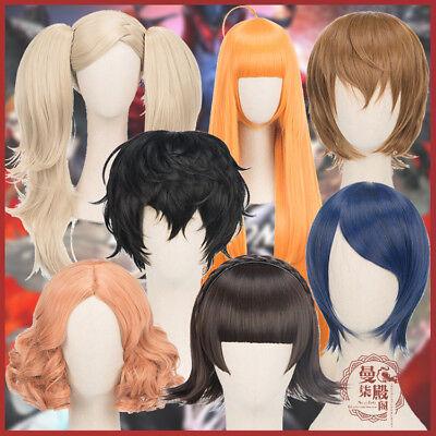 Ann Wig (Persona 5 P5 Ren Amamiya / Anne Takamaki / Yusuke Kitagawa Cosplay Wig)