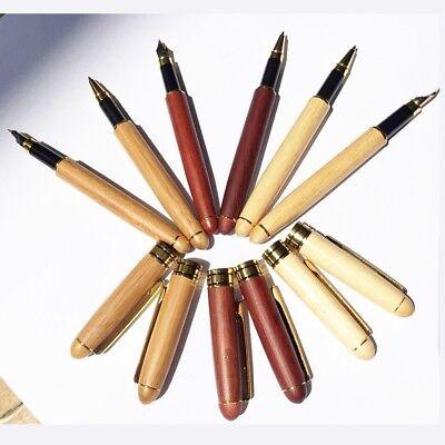 Stylo-plume en bois écriture courante anniversaire traditionnel pratique Popular