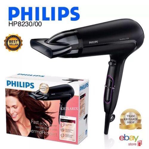 Phon Philips HP8230/00 ThermoProtect Asciugacapelli , 2100 W , Nero , SOTTOCOSTO