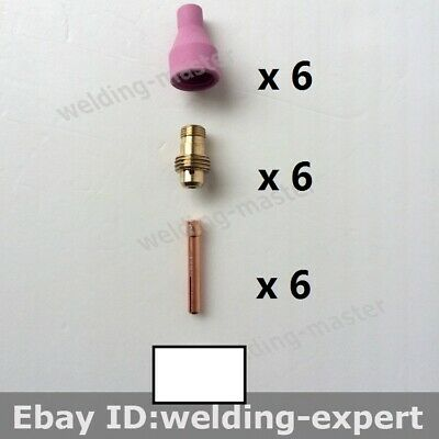 Tig Welding Torch Consumables Qq-150a Qq150a Nozzle Collect Collect Body