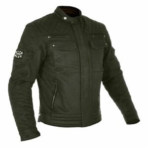 Oxford Cafe Wax Jacket (with CE Armor)