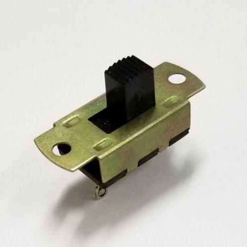 Defond SPST ON-OFF Slide Switch  6A @ 125V AC UL & CSA