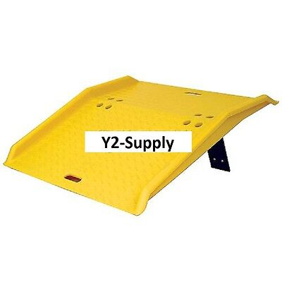 New Eagle Mfg 1795 Portable Plastic Dock Plate 36l X 35w X 5h 750 Lb. Cap