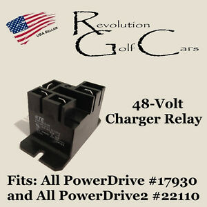 48-Volt-Charger-Battery-Charger-Relay-Fits-Club-Car-48-Volt-Chargers-103414901