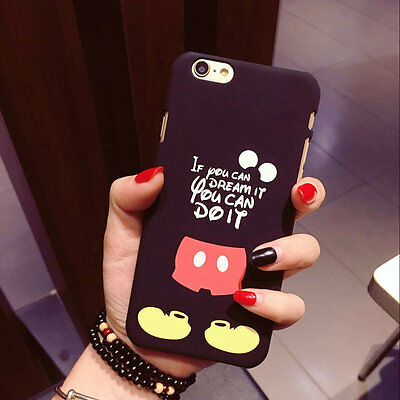 Creative Comics Cool Mickey Mouse Cute Hard Case For iPhone 7 7Plus 8 8 Plus 6s