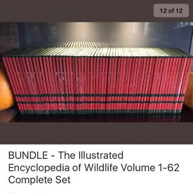 The Illustrated Encyclopaedia of Wildlife Volumes 1-62 - Complete Set