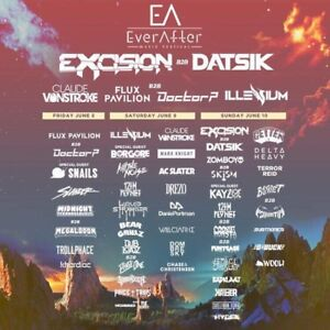 2 billets pour / 2 tickets for—-> EVER AFTER MUSIC FESTIVAL 2018