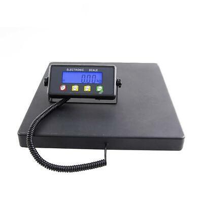 Digital Shipping Postal Parcel Scale 660 Lbs X 0.02lb Large Platform 15.7x15.7in