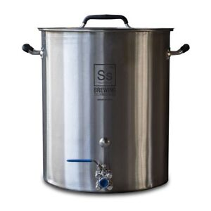 8 or 10 gallon stock pot or brew kettle