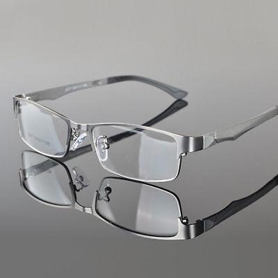 Designer Metal Full Rim Eyeglasses Frame Men's Glasses Spectacles Optical Rx