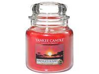 Medium jar Yankee Candle