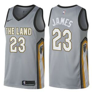 Lebron James  Cleveland Cavaliers  The Land City EdItion Jersey