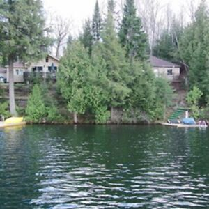 Muskoka 2 Cottages- Beautiful Clear Weekends Sept 9 - Oct 11