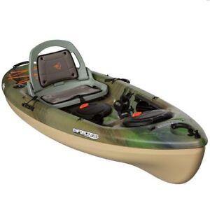 Enforcer 100X Fishing Kayaks with Angler Paddle