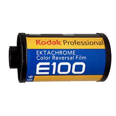 Kodak EKTACHROME E100 36exp Slide Reversal Film NO PACKAGING