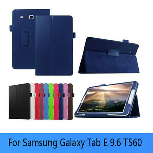 Folding folder stand case for Samsung Galaxy Tab E 9.6 inch Cornwall Ontario image 2