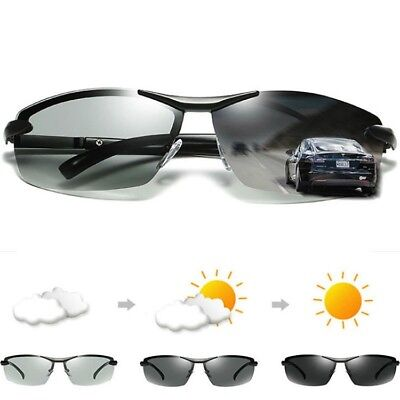 Men's Photo-chromatic Polarized Sunglasses Outdoor Driving Fishing Sport (Chromatic Sunglasses)