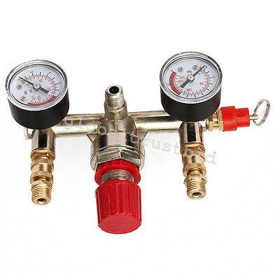 Air Compressor Pressure Control Switch Valve Manifold Regulator Usa Shipping