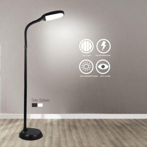 LED Floor Lamp Dimmable Light Standing Adjustable Gooseneck Home Office Desk US