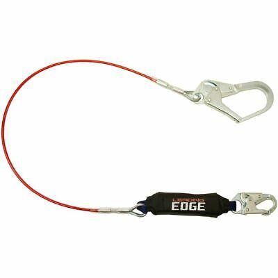 Falltech Leading Edge Dual Class 6 Shock Absorbing Lanyard Wrebar Hook