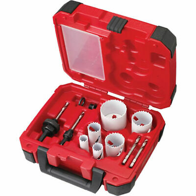 Milwaukee 49-22-4145 Model 10-piece Plumbers Ice Hardened Hole Saw Kit