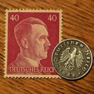 Guerra Mundial 2 artefacto alemán Ejército Nazi De Zinc moneda Tercer Reich Swastika + Sello-  ver título original - España - Guerra Mundial 2 artefacto alemán Ejército Nazi De Zinc moneda Tercer Reich Swastika + Sello-  ver título original - España